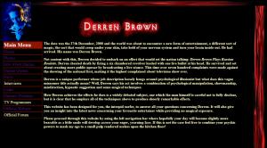 Original 2004 Derren Brown Website